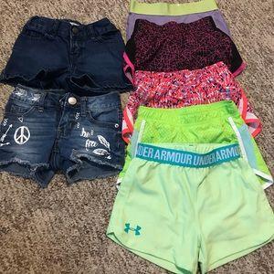 Little girls shorts lot